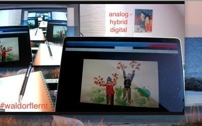 Waldorf digital: gemeinsam kreativ gestalten